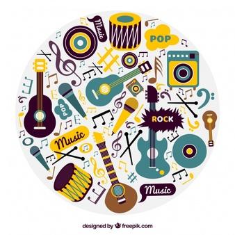 fondo-de-instrumentos-musicales-en-diseno-vintage_23-2147634789